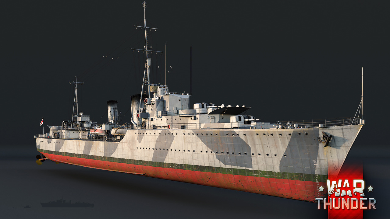 トライバル級駆逐艦 - War Thund...