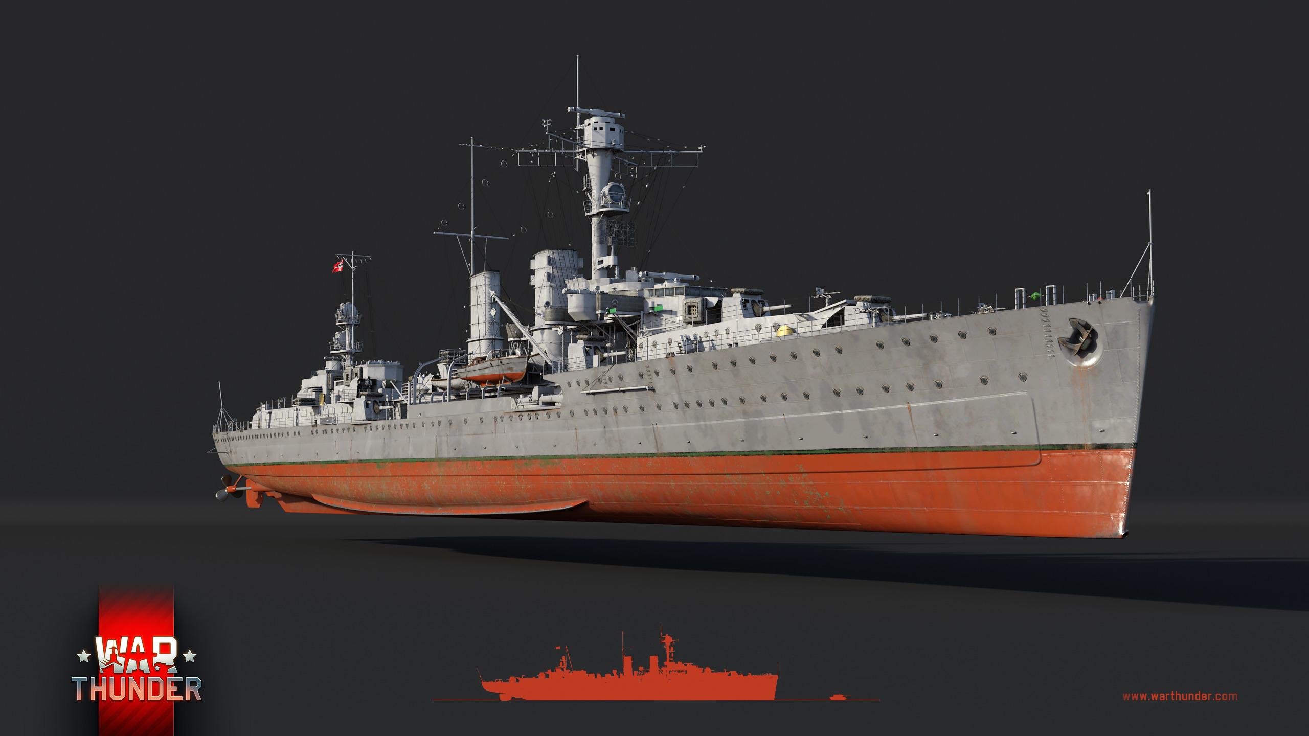 エムデン軽巡洋艦:新たな戦いに向けて - War Thunder (ウォー ...