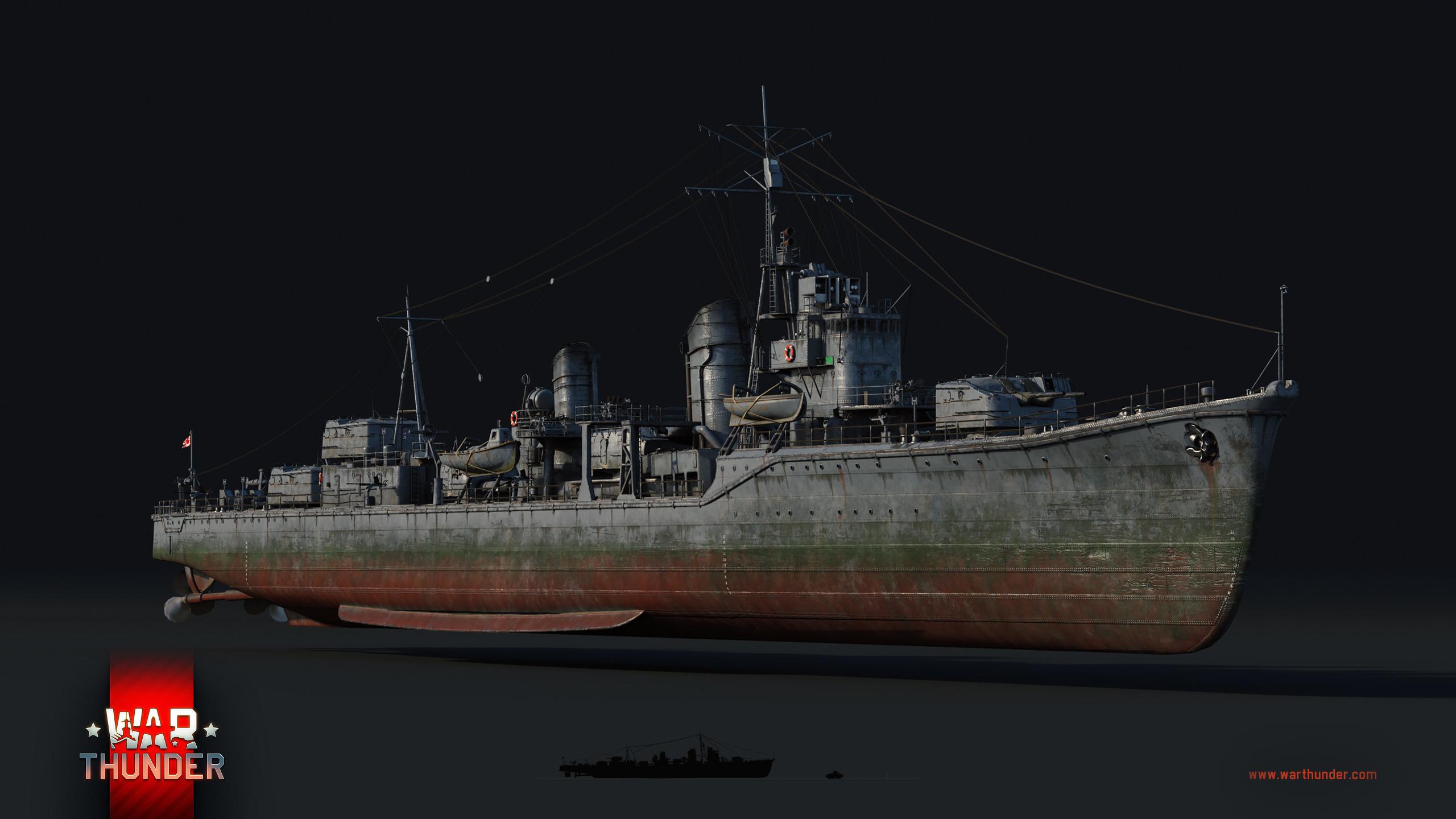 夕雲型駆逐艦 - War Thunder (ウォーサンダー)- DMM GAMES