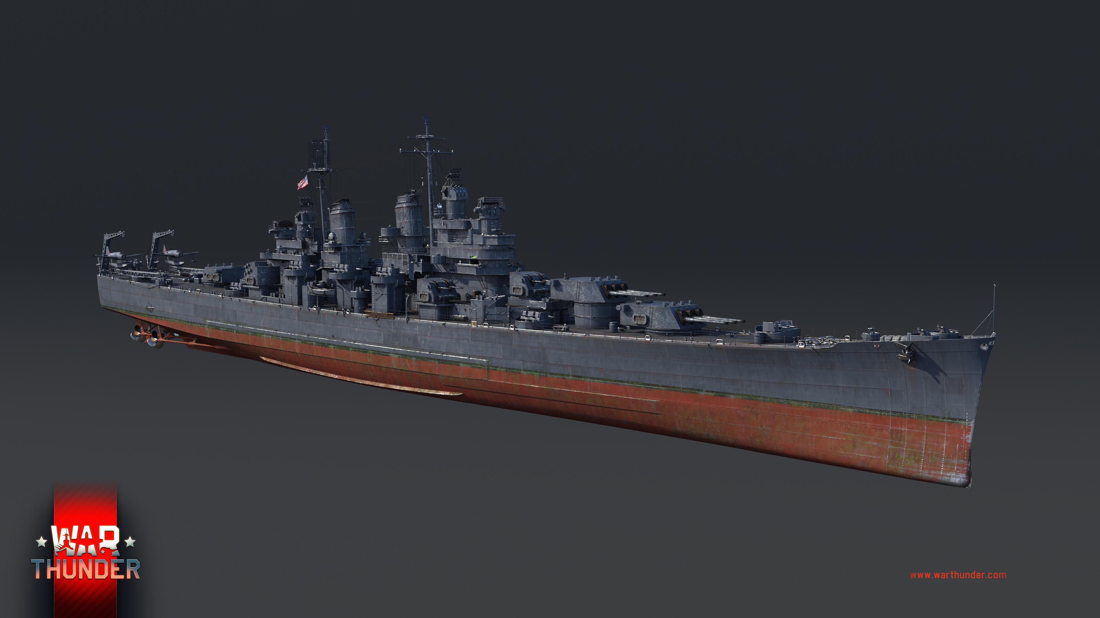 USS ボルチモア(CA-68)1943年仕様 - War Thunder (ウォーサンダー ...