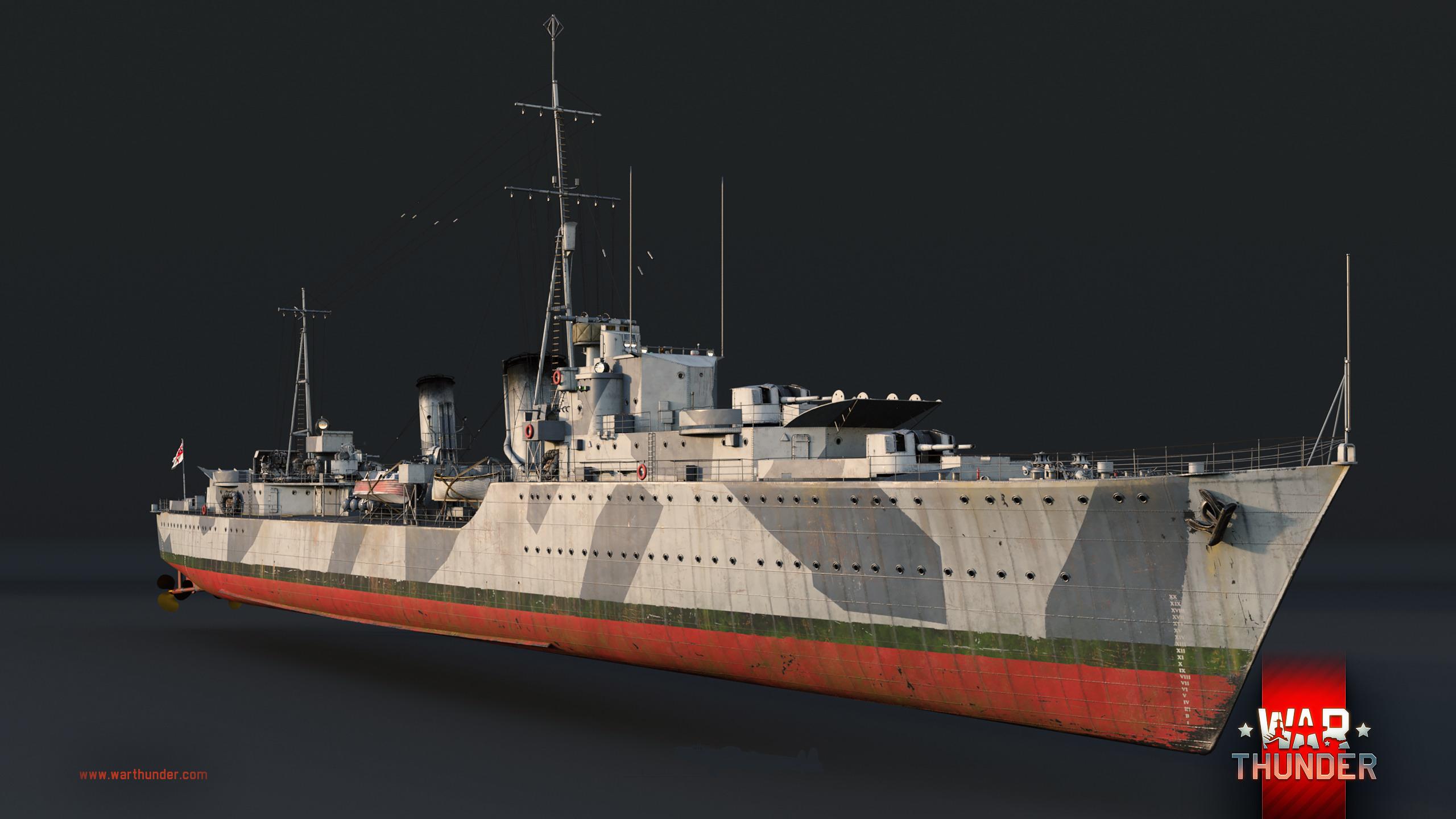 トライバル級駆逐艦 - War Thunder (ウォーサンダー)- DMM GAMES